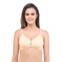 Tracy Skin Color Hosiery Non Padded Regular Wear Bra